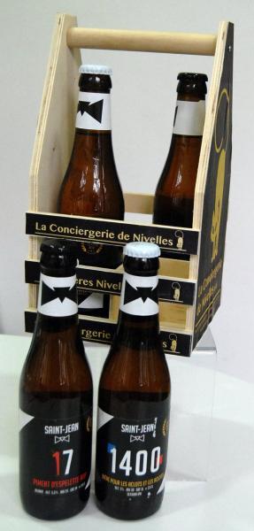Pack en bois Brasserie Saint-Jean 1400 & 17